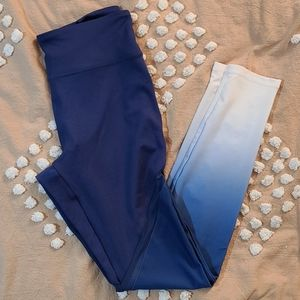 Forever 21 ombre gradient leggings size medium